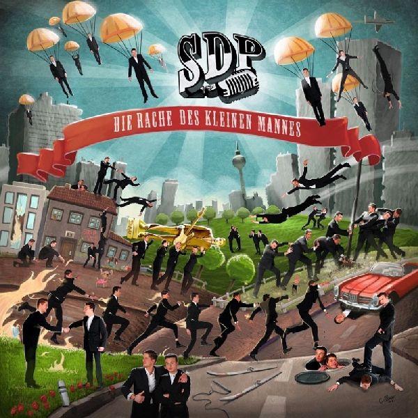 Die Rache Des Kleinen Mannes von Sdp auf Audio CD