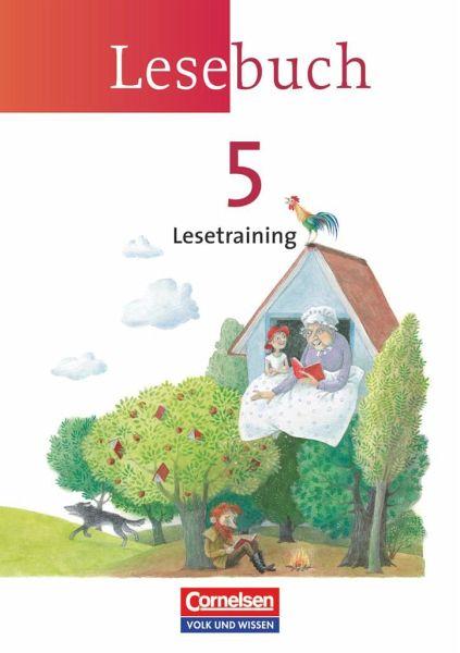 Lesebuch 5. Lesetraining. Arbeitsheft. Neue Ausgabe - Östliche Bundesländer und Berlin