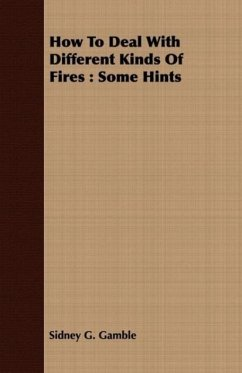How to Deal with Different Kinds of Fires