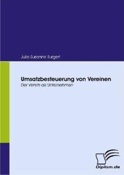 Umsatzbesteuerung von Vereinen - Burgert, Julia-Susanne
