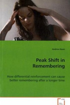 Peak Shift in Remembering
