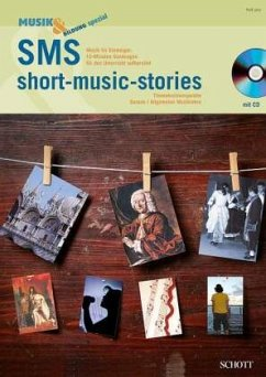 SMS - short music stories, m. Audio-CD