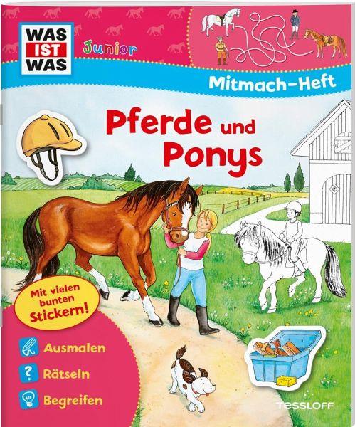 Mitmach Heft Pferde Und Ponys Portofrei Bei Bücher De Bestellen