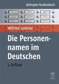 Die Personennamen im Deutschen