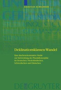 Deklinationsklassen-Wandel - Kürschner, Sebastian