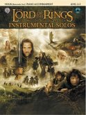 The Lord of the Rings, The Motion Picture Trilogy, w. Audio-CD, for Violin and Piano Accompaniment