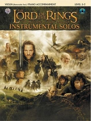 The Lord of the Rings, The Motion Picture Trilogy, w. Audio-CD, for Violin and Piano Accompaniment - Shore, Howard