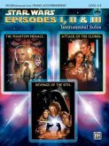 Star Wars®: Episodes I, II & III, w. Audio-CD, for Violin and Piano Accompaniment