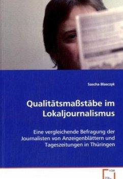 Qualitätsmaßstäbe im Lokaljournalismus