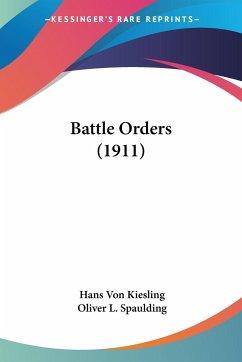 Battle Orders (1911)