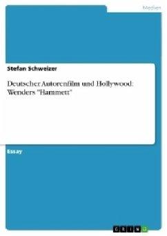 Deutscher Autorenfilm und Hollywood: Wenders