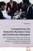 Competencies for Executive Business Crisis and Continuity Managers