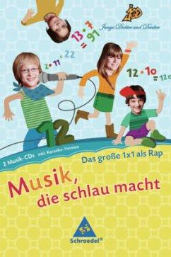 Das große 1x1 als Rap, 2 Audio-CDs, Audio-CD / Junge Dichter und Denker: Musik, die schlau macht