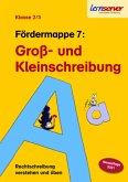 Lernserver Fördermappe 7: Groß- und Kleinschreibung