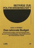 Das rationale Budget