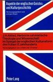 J.H. Alsted, Herborns calvinistische Theologie und Wissenschaft im Spiegel der englischen Kulturreform des frühen 17. Jahrhunderts