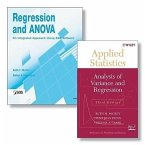 Regression and Anova: An Integrated Approach Using SAS Software + Applied Statistics: Analysis of Variance and Regression, Third Edition Set [With App