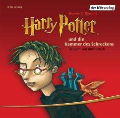 Harry Potter und die Kammer des Schreckens / Harry Potter Bd.2 (10 Audio-CDs) - Rowling, J. K.