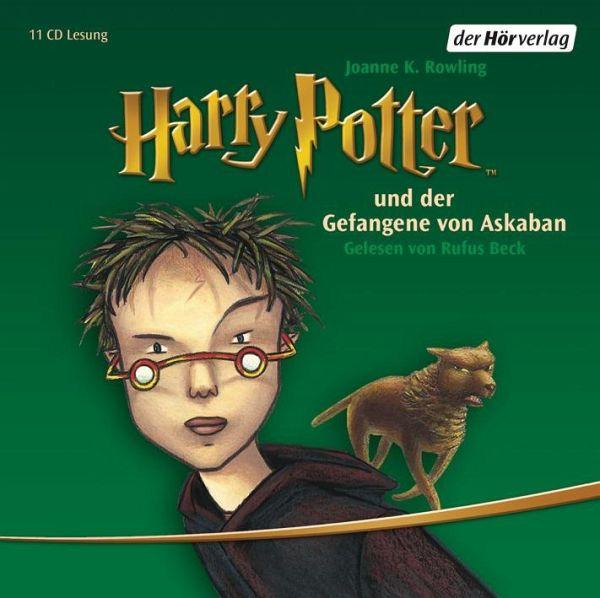 Harry Potter Und Der Gefangene Von Askaban Harry Potter Bd 3 Audio Cd Von J K Rowling Horbucher Portofrei Bei Bucher De