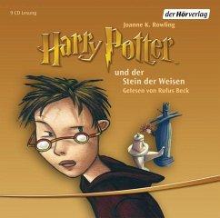 Harry Potter und der Stein der Weisen / Harry Potter Bd.1 (9 Audio-CDs) - Rowling, J. K.