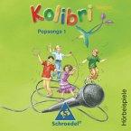 Popsongs 1, Audio-CD / Kolibri-Spezial