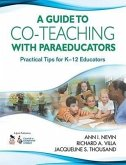 Guide to Co-Teaching with Paraeducators: Practical Tips for K-12 Educators