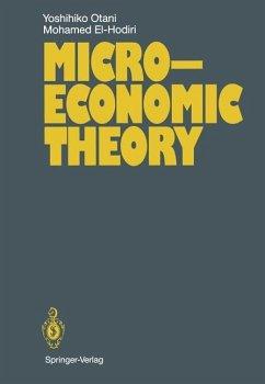 Microeconomic Theory - Otani, Yoshihiko; Hodiri, Mohamed El-