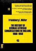 The History of German Lutheran Congregations in England, 1900-1950