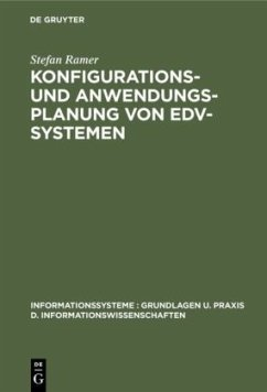 Konfigurations- und Anwendungsplanung von EDV-Systemen - Ramer, Stefan