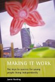 Making It Work: The Keys to Success for Young People Living Independently