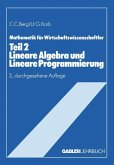 Lineare Algebra und Lineare Programmierung
