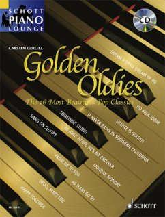 Golden Oldies, Klavier, m. Audio-CD
