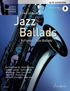Jazz Ballads, für Alt-Saxophon, Einzelstimme und Klaviersatz, m. Audio-CD