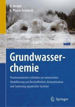Grundwasserchemie - Merkel, Broder J.;Planer-Friedrich, Britta