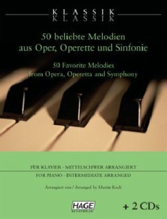 Klassik Klassik - 50 beliebte Melodien für Klav...