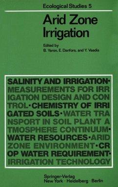 Ecological Studies: VOL. 5: Arid Zone Irrigation.
