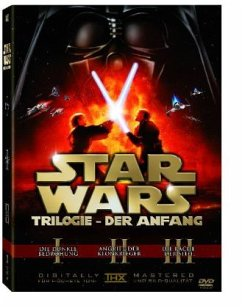 Star Wars: Prequel Trilogie - Episode I - III, 3 DVDs