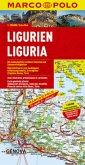 Marco Polo Karte Ligurien; Ligurie / Liguria