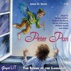 Peter Pan, English version, 4 Audio-CDs