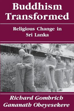 Buddhism Transformed - Gombrich, Richard Obeyesekere, Gananath