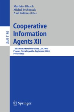 Cooperative Information Agents XII