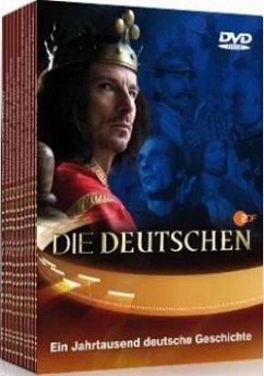 Die Deutschen - Staffel I (Folge.1-10), 10 DVDs - Die Deutschen-Zdf-Doku