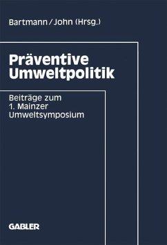 Präventive Umweltpolitik