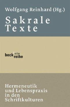 Sakrale Texte - Reinhard, Wolfgang