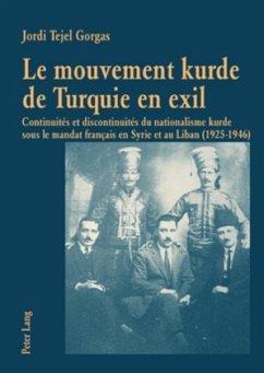 Le mouvement kurde de Turquie en exil