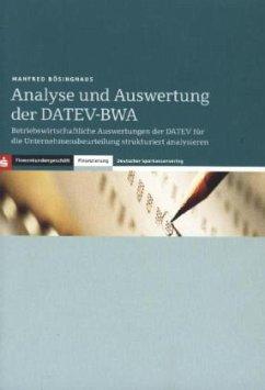 Analyse und Auswertung der DATEV-BWA