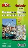 KVplan Freizeit Husumer Bucht mit Stadtplan Husum