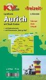 KVplan Freizeit Landkreis Aurich mit Stadt Emden