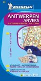 Michelin Karte Antwerpen; Anvers