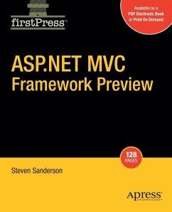 ASP.NET MVC Framework Preview - Sanderson, Steven